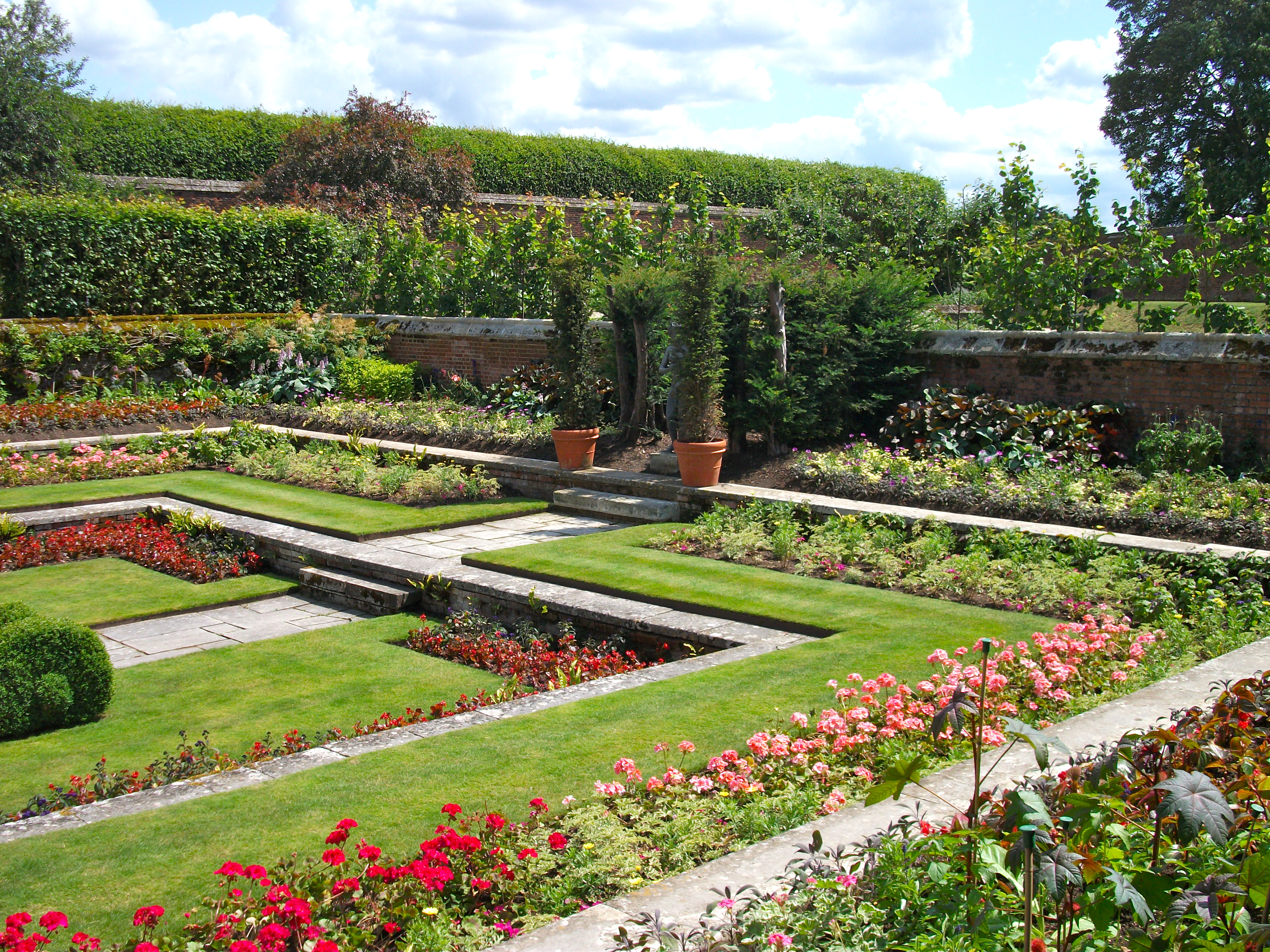 Roses In Garden: Open To The Public In 19th Century