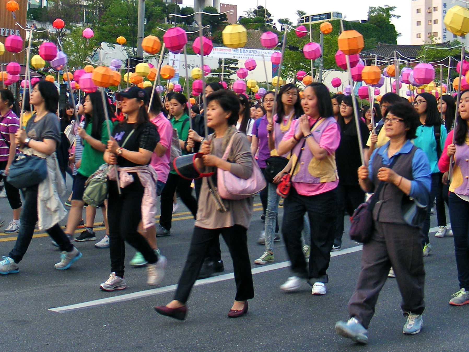 Lotus Lantern Parade in Seoul