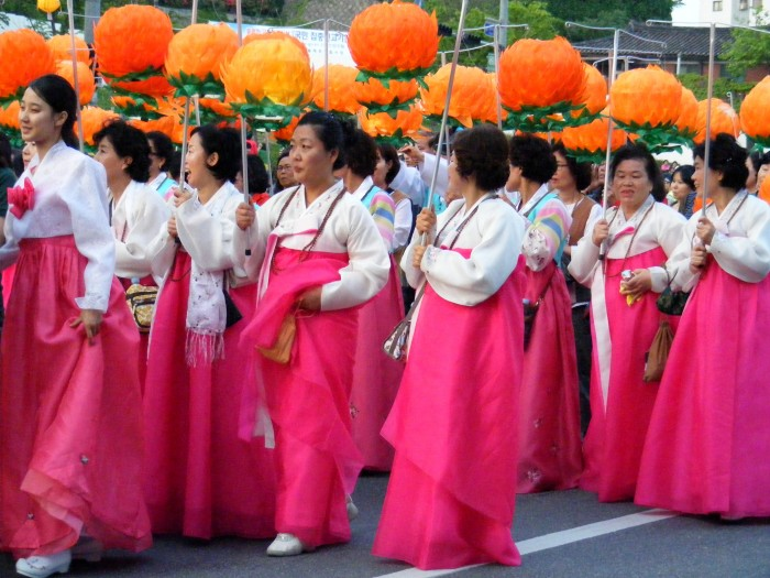 Korean Women in Traditional Dress