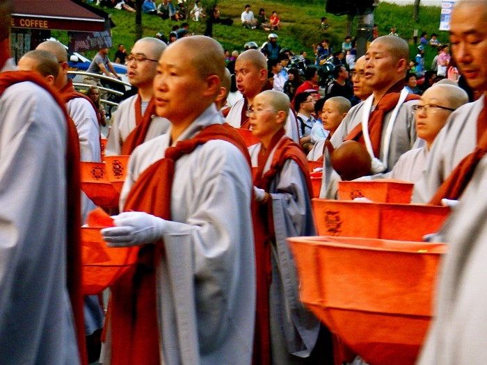 Monks in Seoul