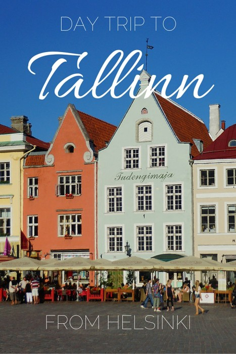 Day trip to Tallinn Estonia