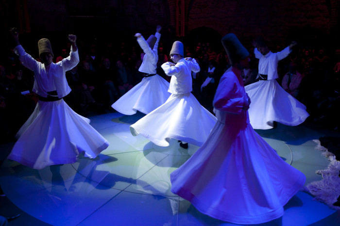 Whirling dervishes Sema Ceremony in Istanbul