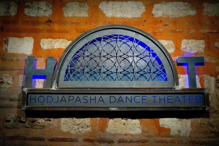 Whirling Dervishes at Hodjapasha Dance Theatre