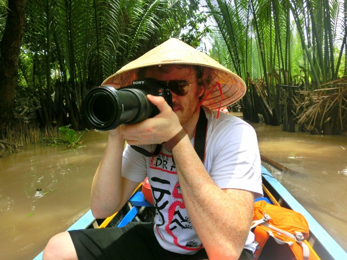 You Know You're Travelling with a Photographer When…