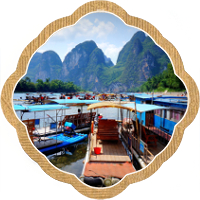 Thumbnail image for Rafting down the Li River in Photos