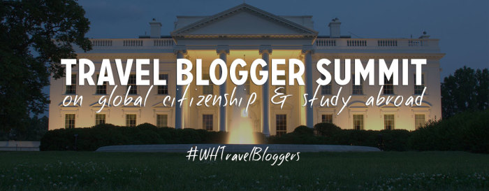 White House Summit on Study Abroad and Global Citizenship