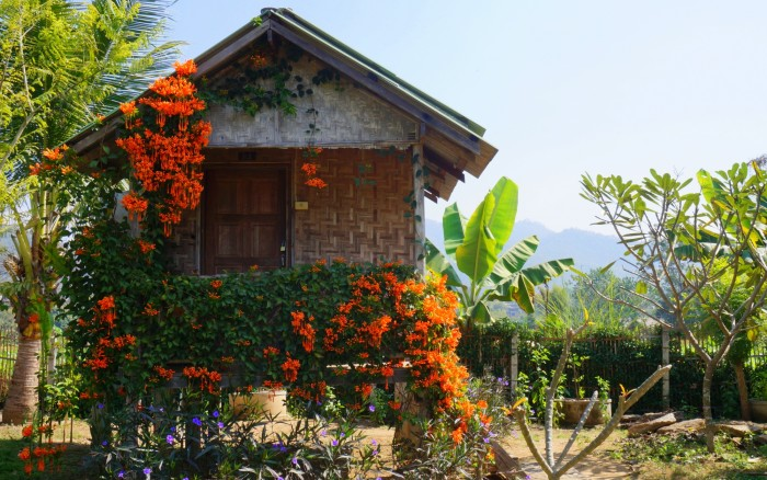 A little bungalow in Pai, Thailand