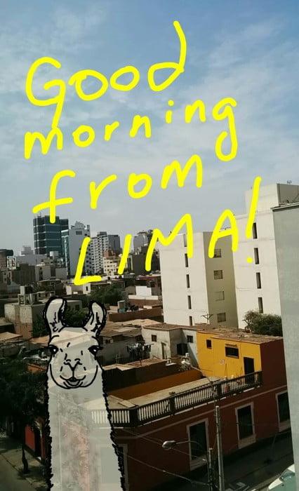 Snapchat thatbackpacker travel snaps