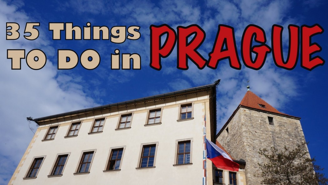 50 Things to DO in PRAGUE