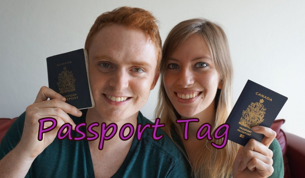 Passport Tag: Stamps and their Stories