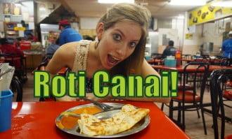 Roti Canai in Kuala Lumpur