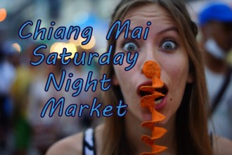 VIDEO: The Saturday Night Market in Chiang Mai