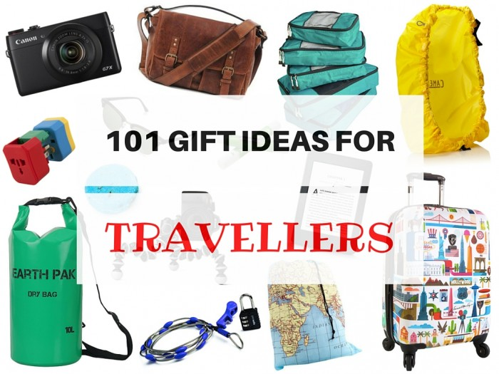 101 Gifts for Travellers in Every Budget!