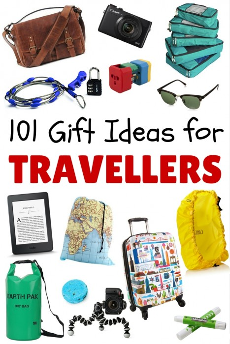 101 gifts for travellers in every budget for Good gifts for a traveler