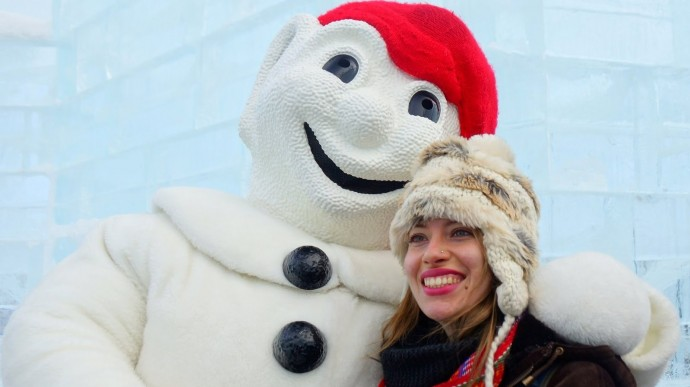 Loving Winter at Carnaval de Quebec
