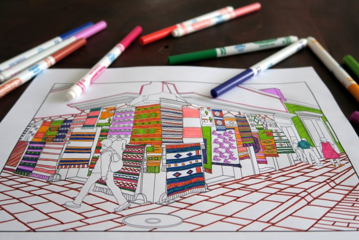 Adult Colouring Book 3