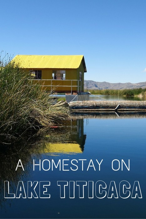 Homestay on Lake Titicaca near Puno, Peru