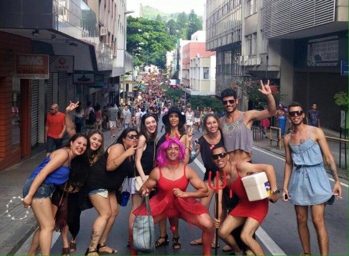 Carnaval in Florianópolis, Brazil