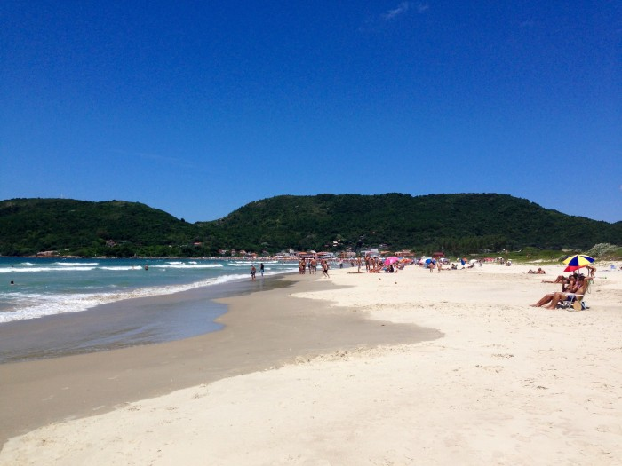 The beaches of Florianópolis
