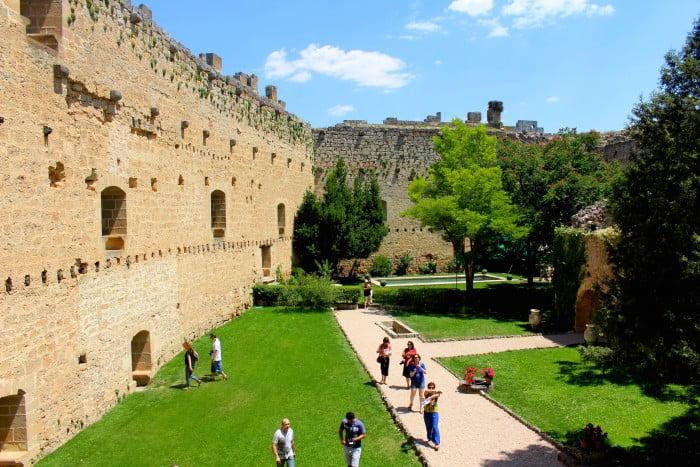 Visiting Pedraza Castle