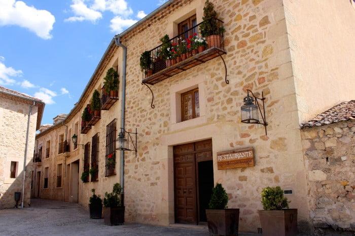Cute streets in Pedraza