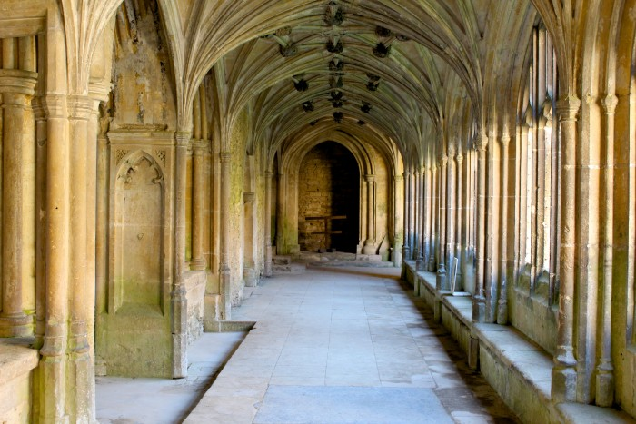 Visiting Harry Potter sites in Lacock