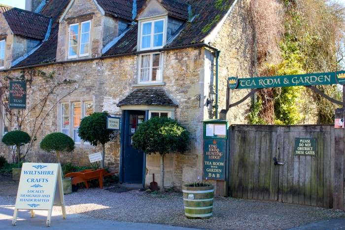 The charming village of Lacock