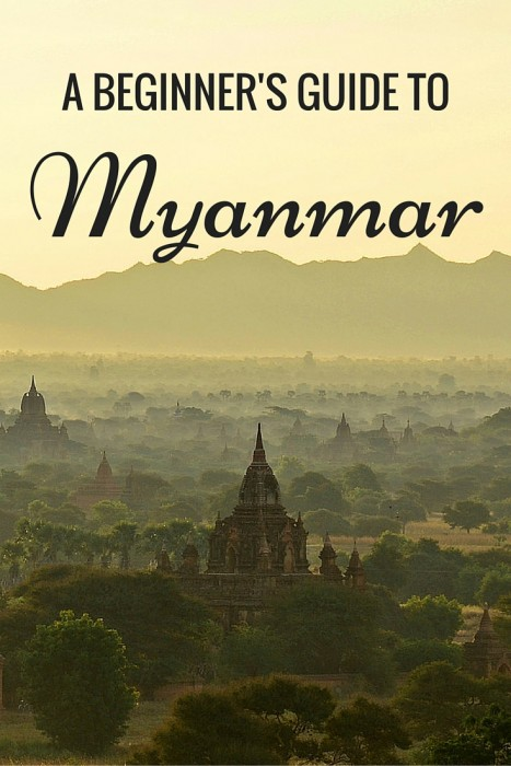 Guide to travel in Myanmar Burma