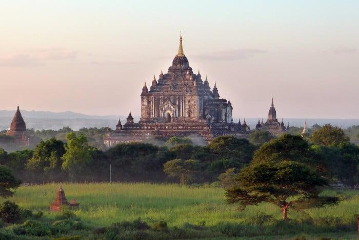 Temples of Bagan Myanmar Burma