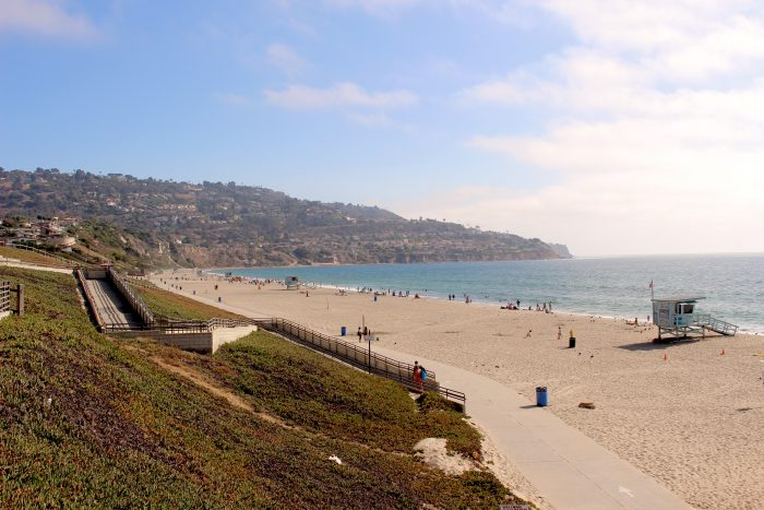 Visiting Miramar Park and Torrance Beach, California