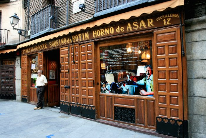 The oldest restaurant in the world!