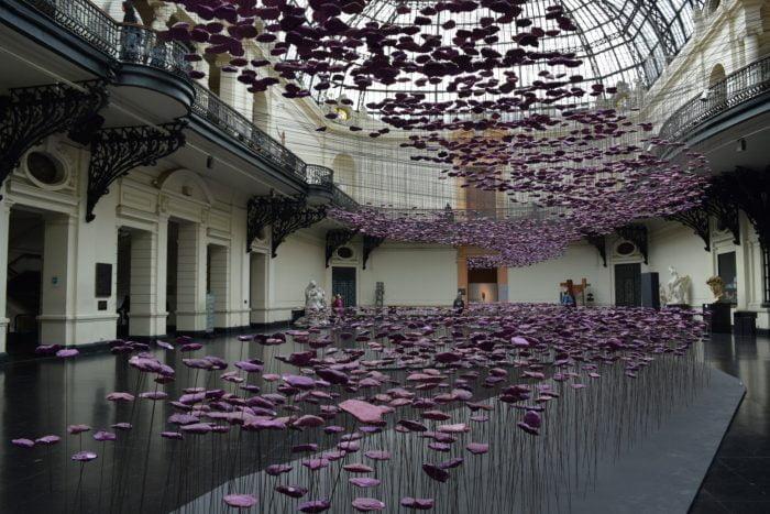 Exhibitions in the Fine Arts Museum, Santiago