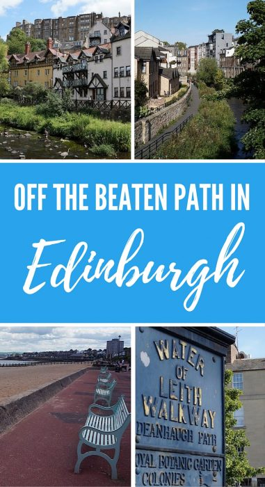 Off the beaten path in Edinburgh, Scotland