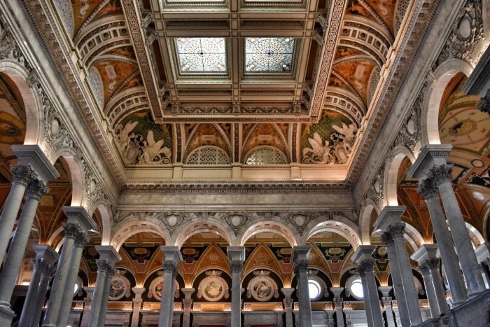 Visiting the Library of Congress in Washington D.C.