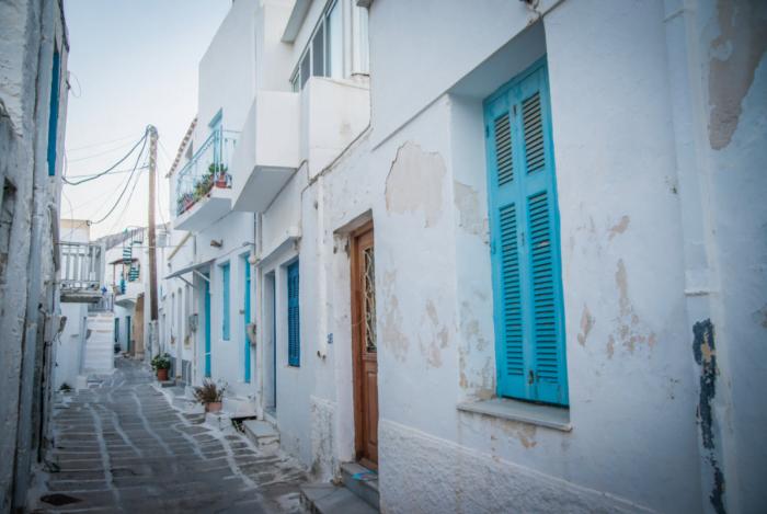 Visiting Paros, Greece