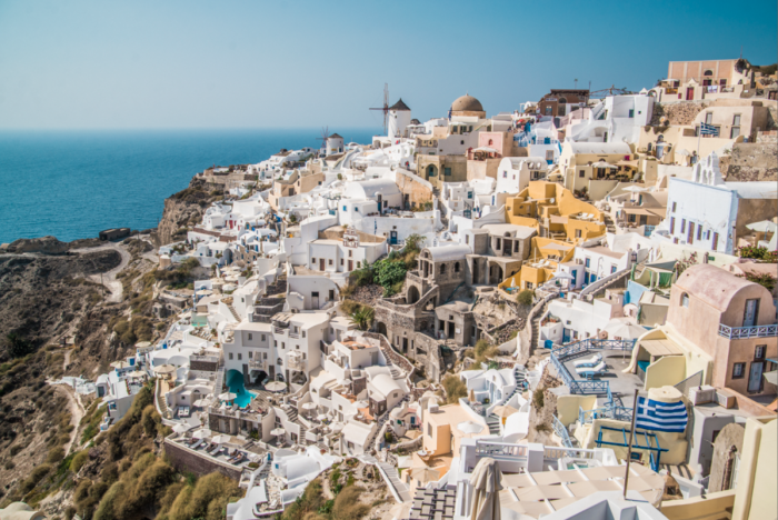 Visiting Santorini, said to be one of the most beautiful Greek Islands.