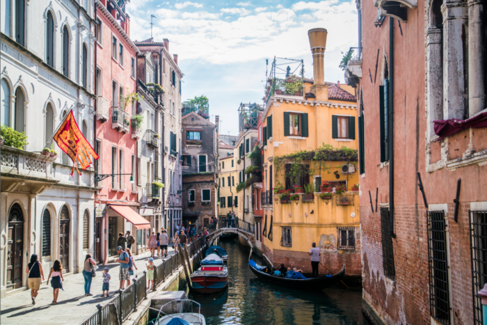 Every trip to Venice, Italy should begin with a wander down the narrow alleys