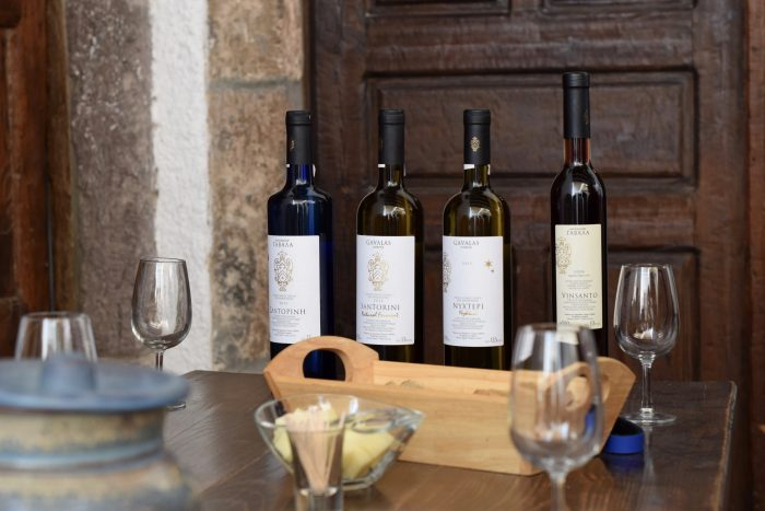 Going on a Santorini wine tour