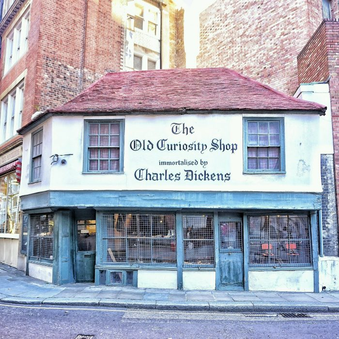 The Old Curiosity Shop in London