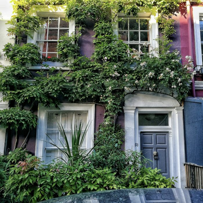 Explore Notting Hill's facades.
