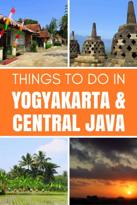 Indonesia Travel: Things to do in Yogyakarta & Central Java, featuring volcanoes, temples, and local food!