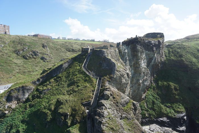Tintagel Castle is popular castle in South West England you must see for yourself!