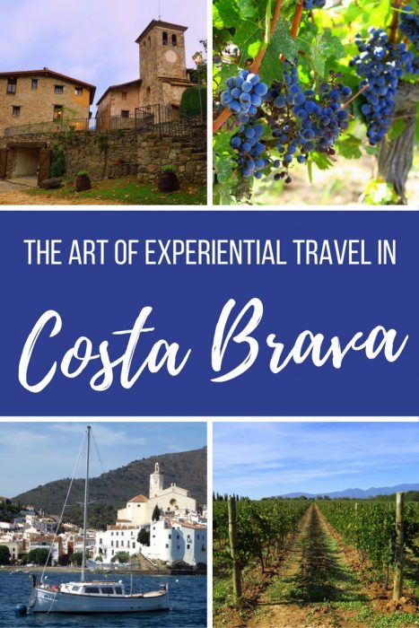 Travel in Costa Brava, Spain.