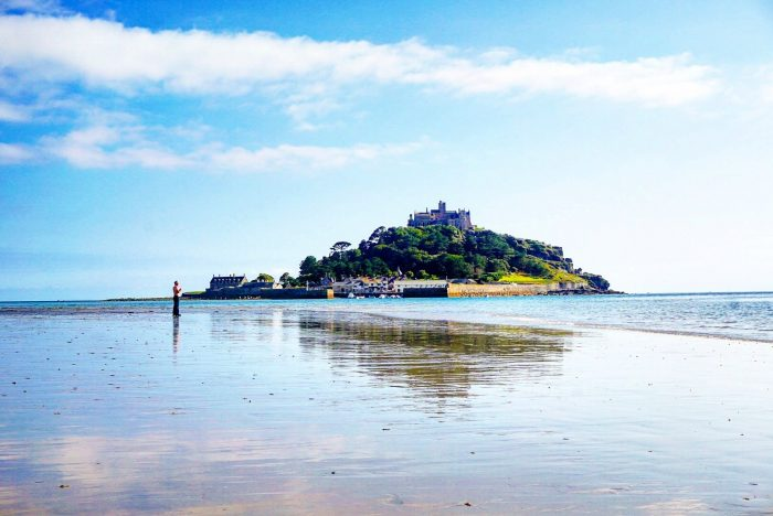 St Michael's Mount is a castle to visit in South West England