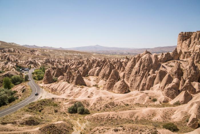 Exploring Pasabag and Zelve Valley in Cappadocia.