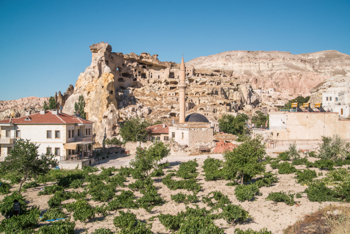 Exploring the villages of Cappadocia, Turkey.