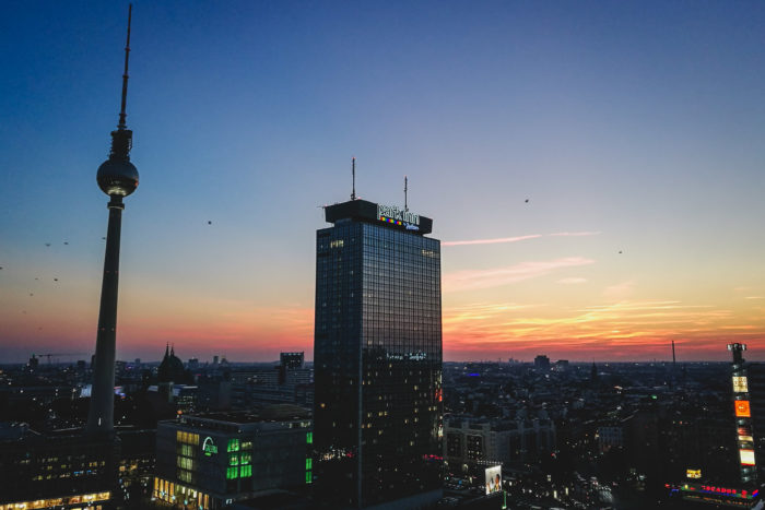 Berlin Travel Bucket List - Base Flying at Park Inn Hotel
