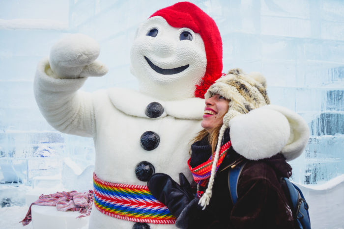 Carnival around the world - Carnaval de Quebec in Canada