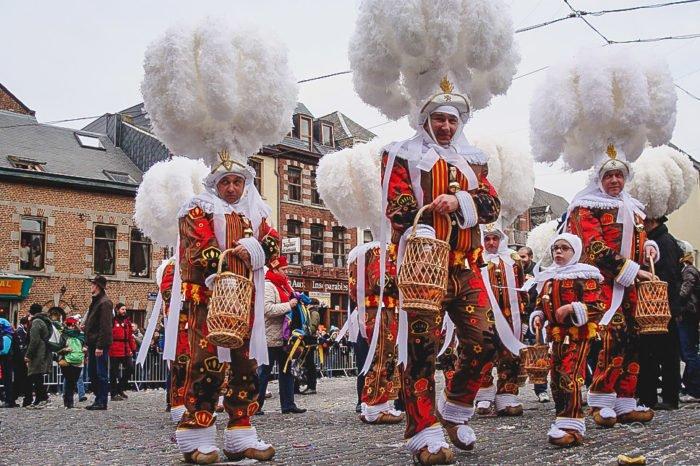 Carnival around the world - Binche, Belgium