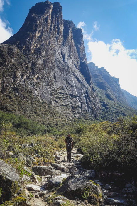 Landscapes on the Santa Cruz Trek from Huaraz